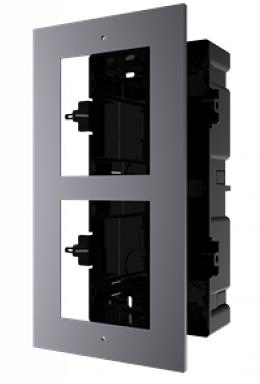 Montage 2 encastré vidéophone HIKVISION