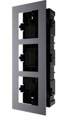 Montage 3 encastré vidéophone HIKVISION